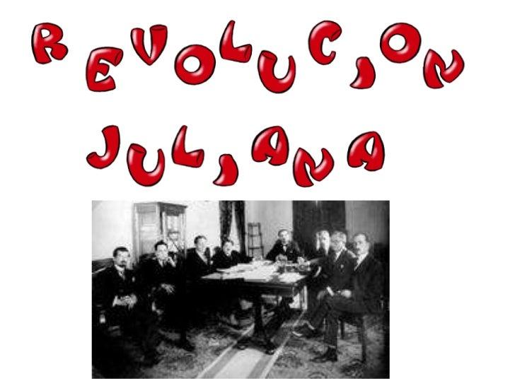 Revolucion juliana