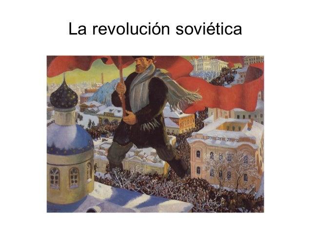 La revolución soviética