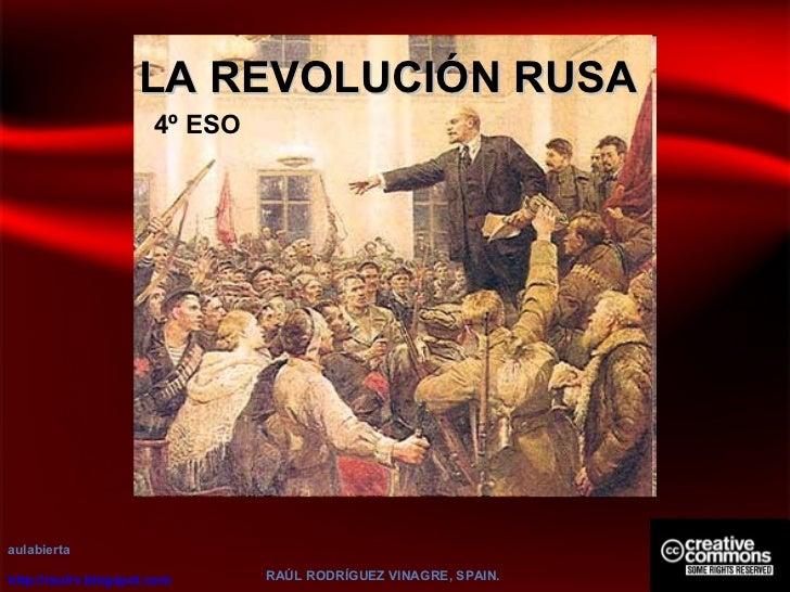 Revolucion rusa aulabierta