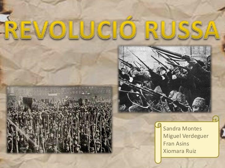 Revolucio russa
