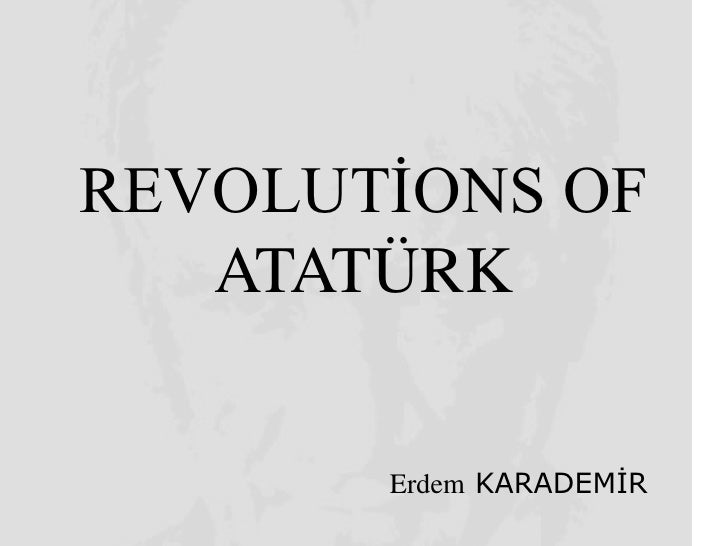 Revolution of Atatürk