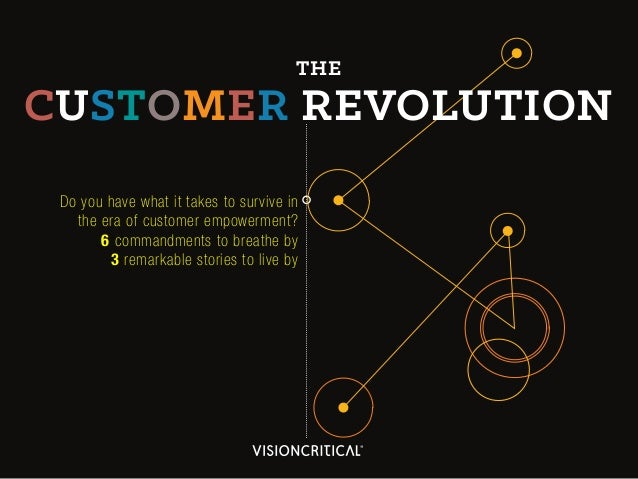 The Customer Revolution: 3 Remarkable Stories to Live By