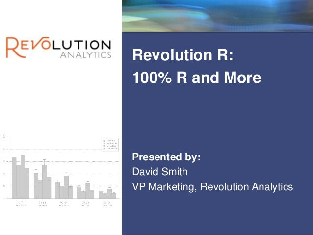 Revolution R: 100% R and more