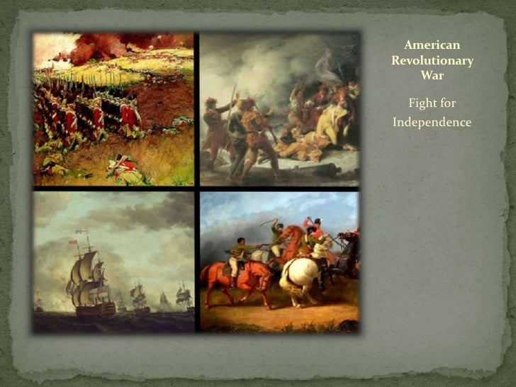 American Revolutionary     War     Fight for Independence