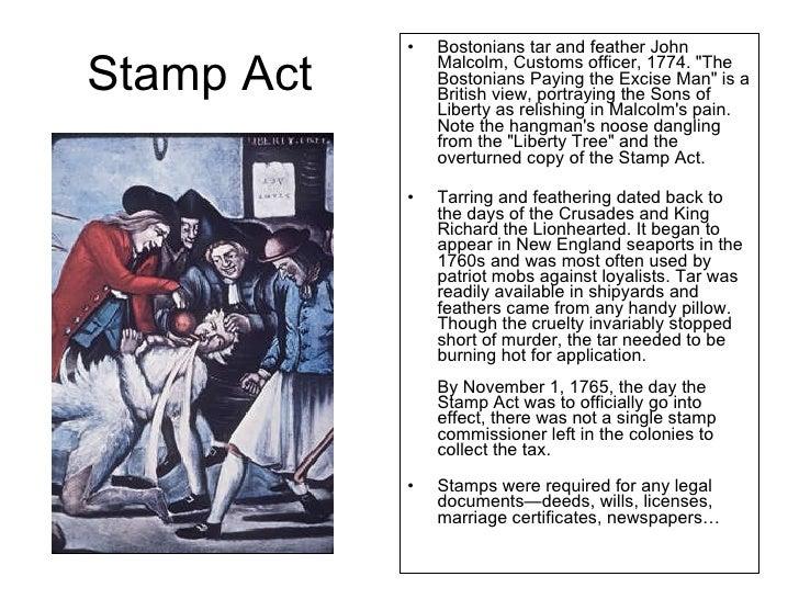stamp act essay