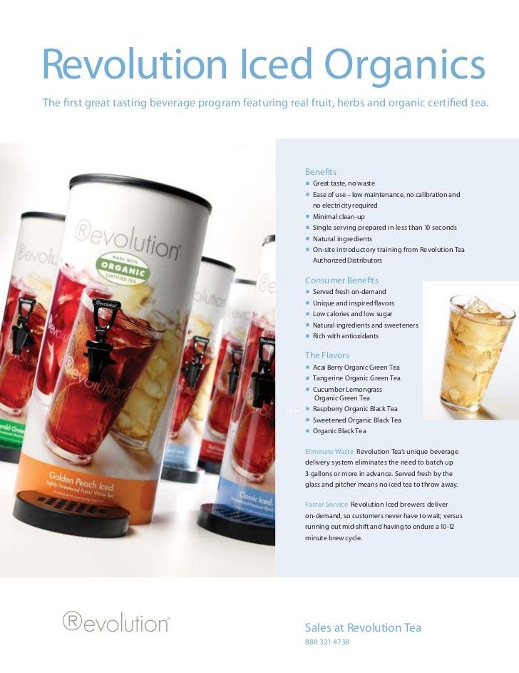 Revolution Iced Organics