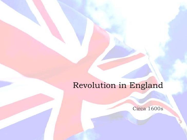 Revolution in England