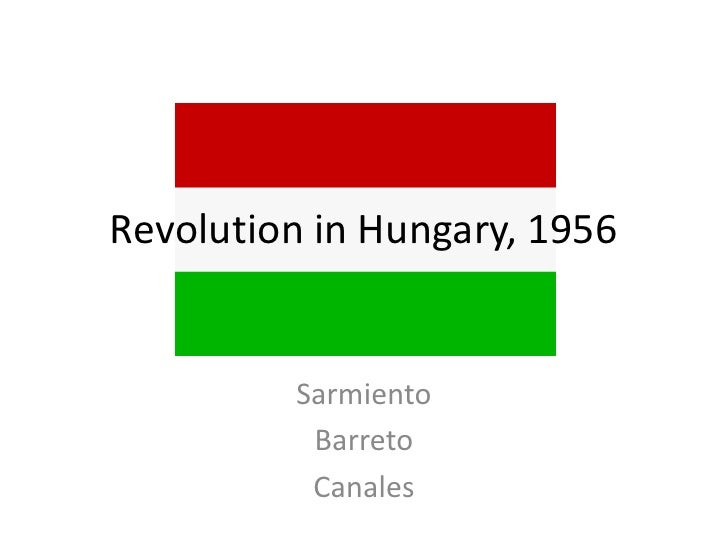 Revolution in hungary,