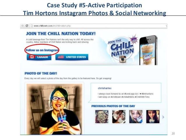 tim hortons case study