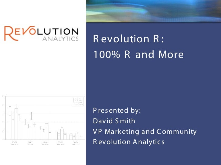 Revolution R - 100% R and More