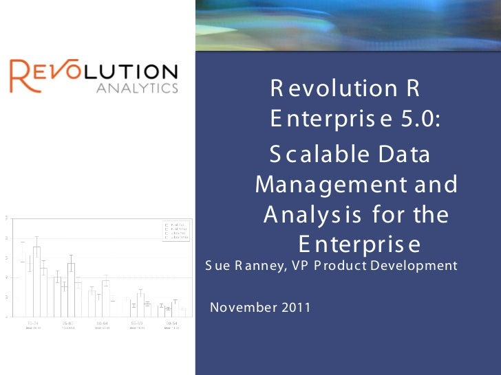 New Features in Revolution R Enterprise 5.0 to Support Scalable Data Analysis