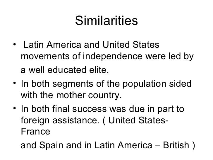 the contrast of french and spanish Compare and contrast the spanish, british, and french colonial experiences (economic, political, immigration policies, native.