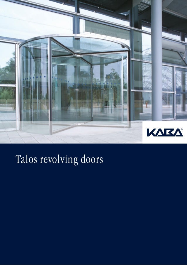 Revolving doors-talos
