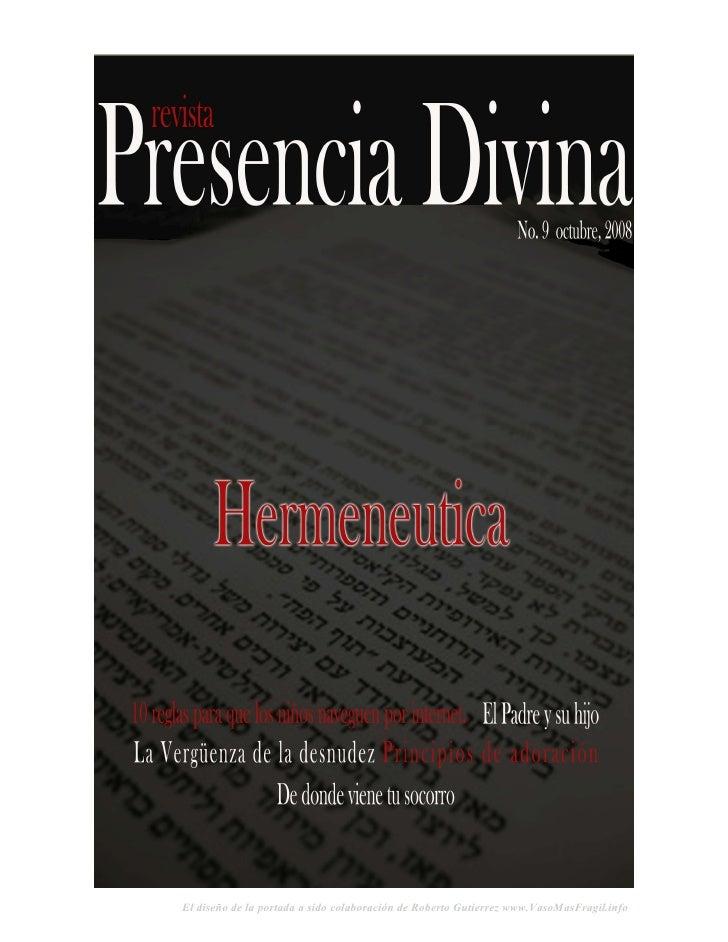 Revista Presencia Divina Volumen 9