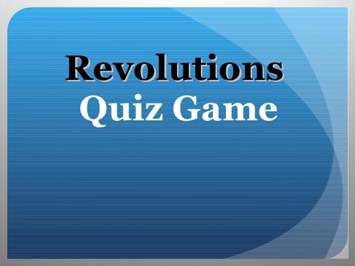 Rev Quiz Review