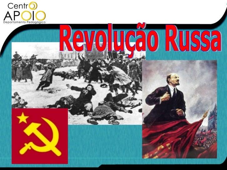História - Revolução Russa - www.CentroApoio.com