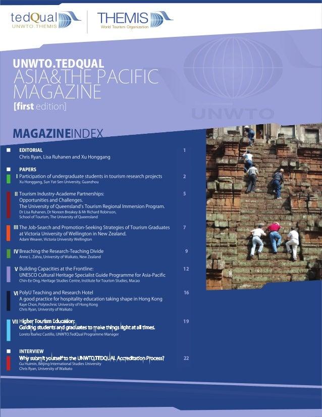 UNWTO.TedQual Magazine