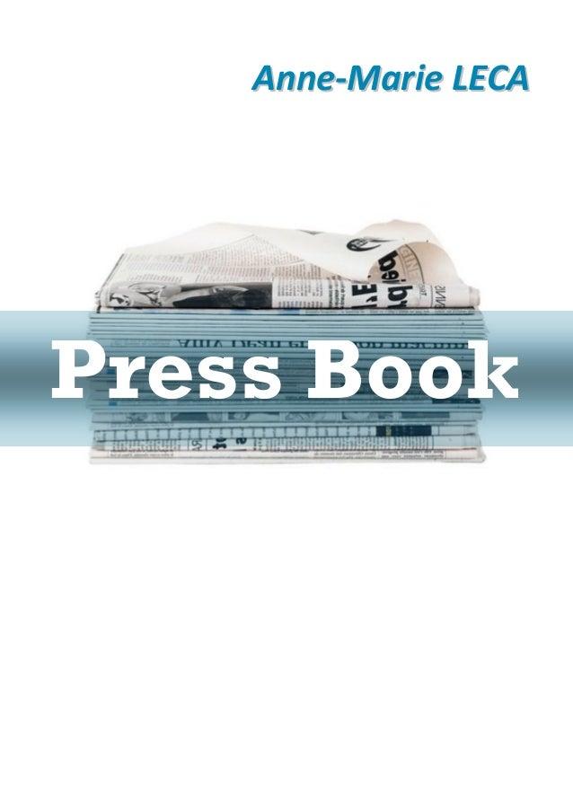 Anne-Marie LECAPress Book