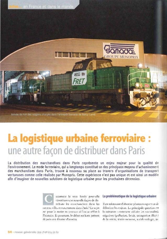 Revue générale des chemins de fer   juin 2014