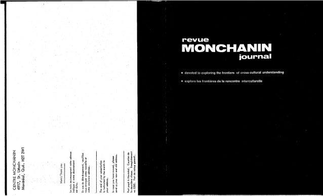 Revue monchanin vol.xii, no 3, cahier 64