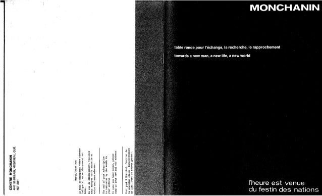 Revue monchanin vol ix, no 3, cahier 53