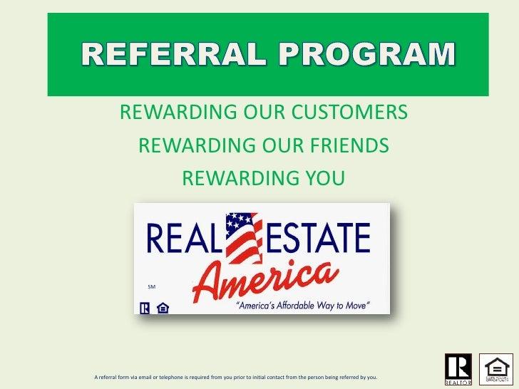Reward Referral Program