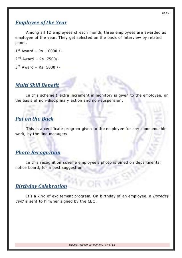 employee of the year award template award certificate