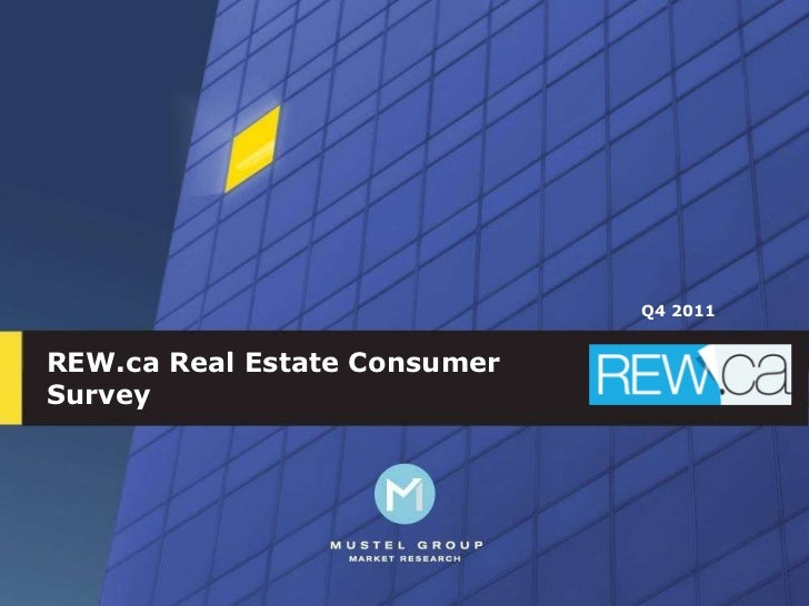 Vancouver Real Estate Consumer Survey
