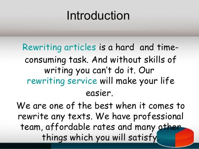 How to Rewrite PLR Articles
