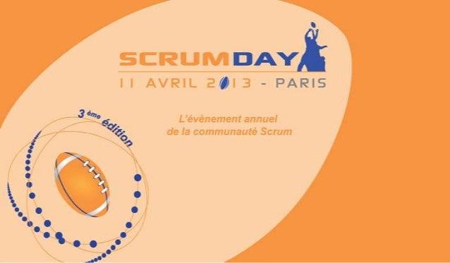 Scrum Day 2013 - Avancer petit à petit (MiPih)