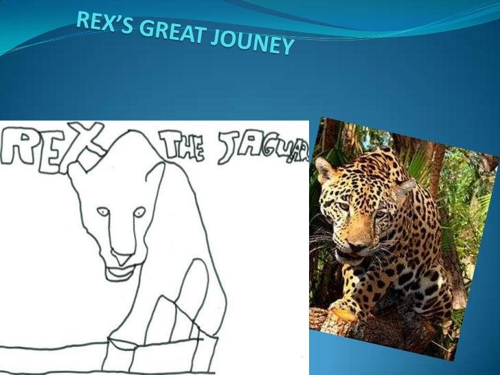 REX'S GREAT JOUNEY<br />