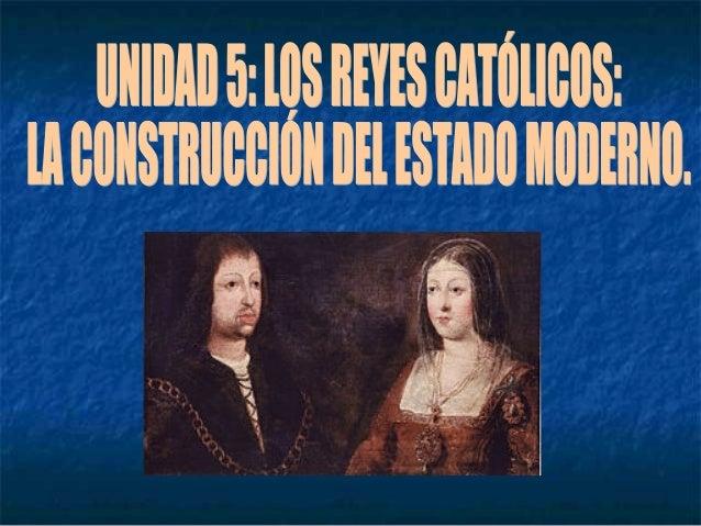 1. Unión dinástica: integración de las Coronas de Castilla y Aragón.
