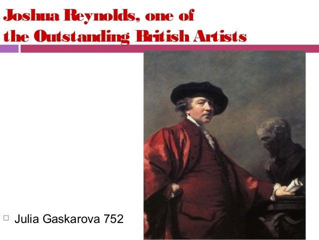 Joshua Reynolds, one of the Outstanding British Artists    Julia Gaskarova 752