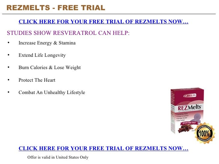 REZMELTS - FREE TRIAL   CLICK HERE FOR YOUR FREE TRIAL OF REZMELTS NOW… CLICK HERE FOR YOUR FREE TRIAL OF REZMELTS NOW… Of...