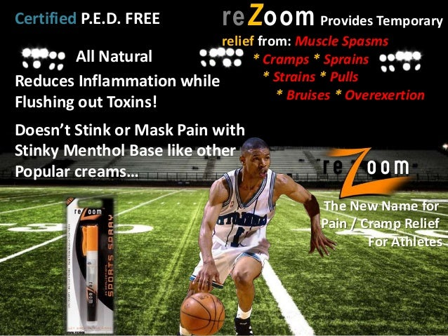All Natural- Non Mentholated - DRUG FREE Cramp & Muscle Spasm Relief is a Quick Spray Away!!!!! reZoom
