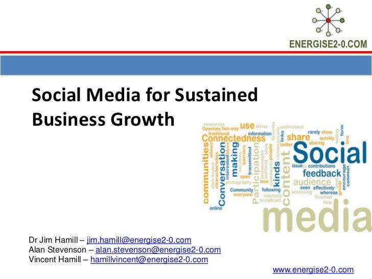 RFC Social Media Presentation, 2nd August, 2011