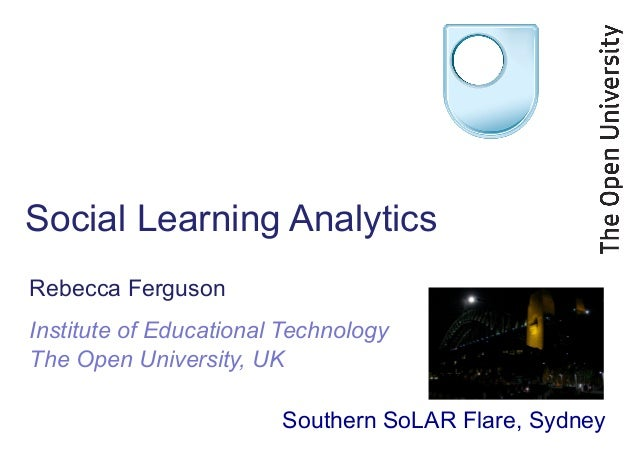 Social Learning Analytics, Southern SoLAR Flare
