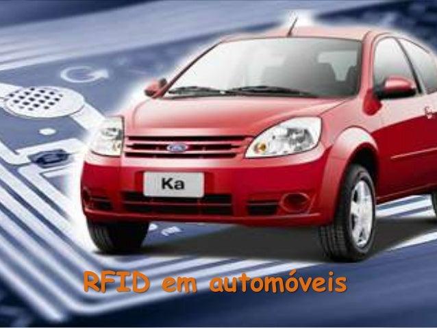 RFID em automóveis