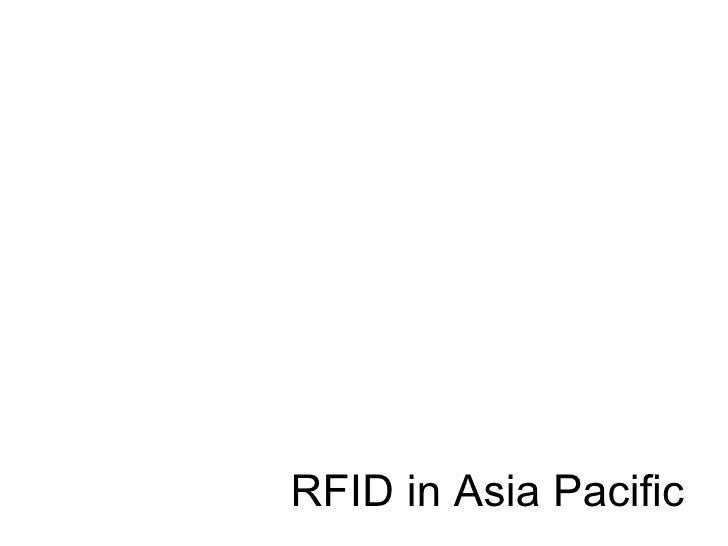 RFID in Asia Pacific