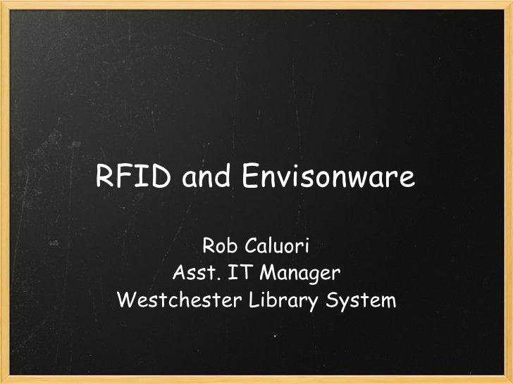 RFID And Envisonware