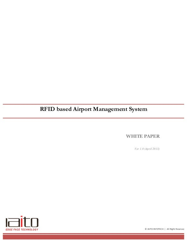 RFID based Airport Management