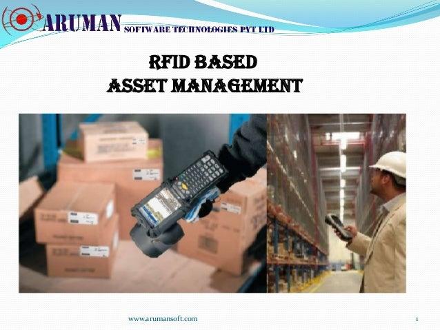 Rfid based asset management