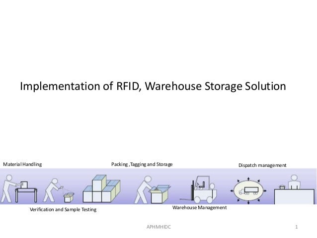 Implementation of RFID, Warehouse Storage SolutionMaterial Handling                            Packing ,Tagging and Storag...