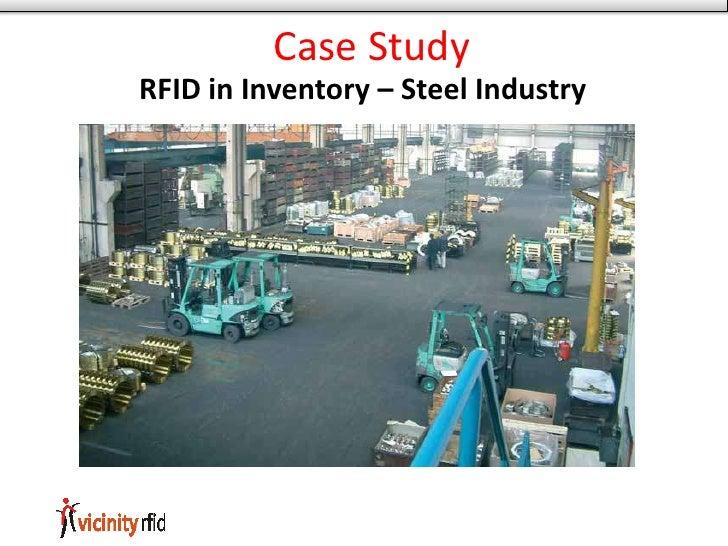 Case Study RFID in Inventory – Steel Industry