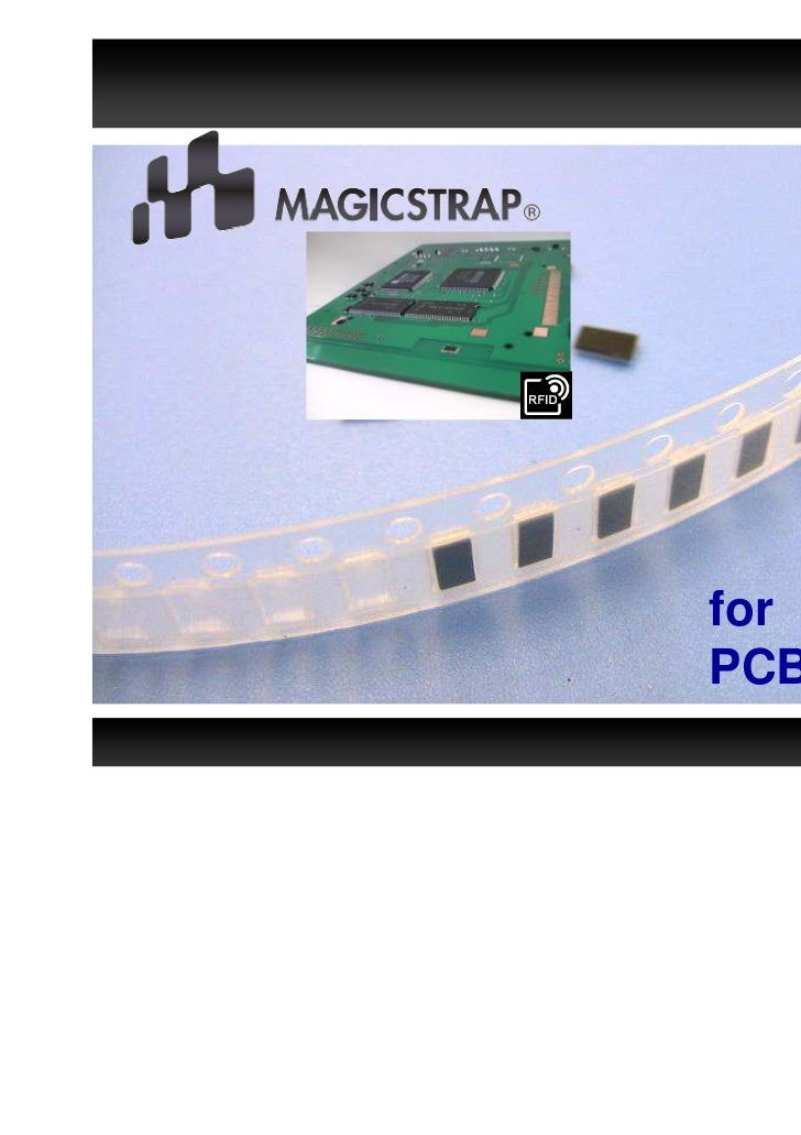 for UHF RFIDPCB Tags    Confidential