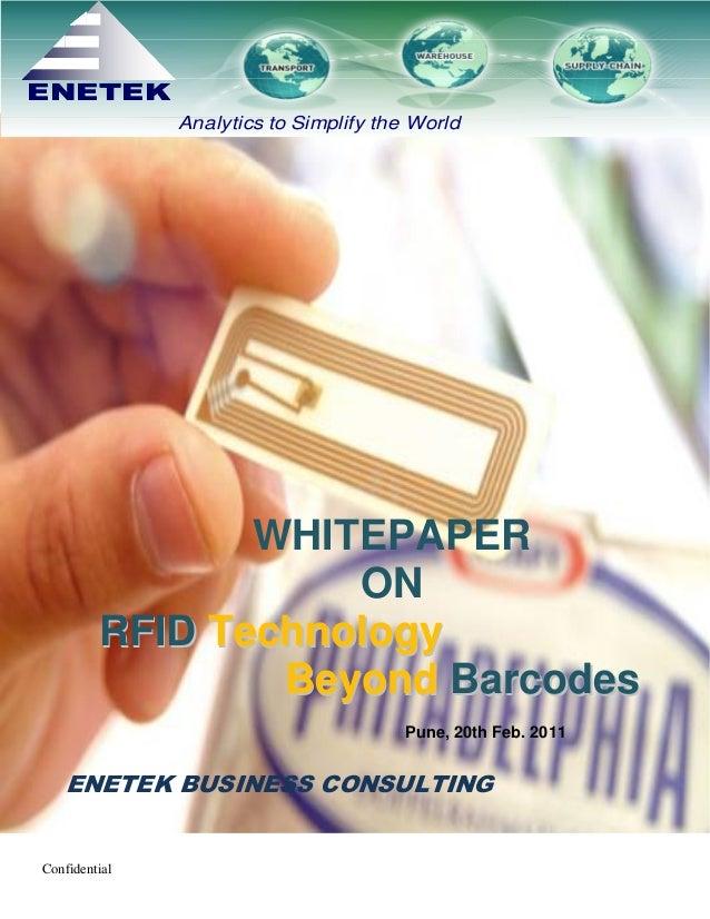 RFID Whitepaper for Steel Industry