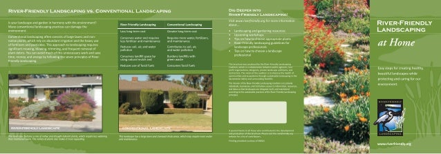 River-Friendly Landscaping at Home - Sacramento County, California