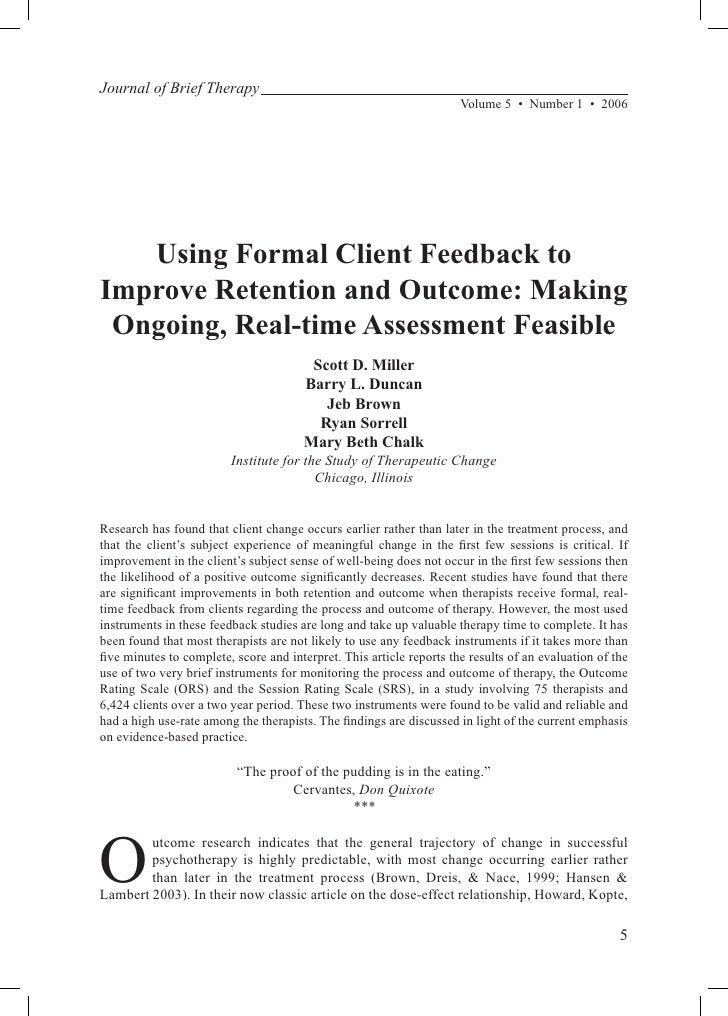 RFL Feedback Study