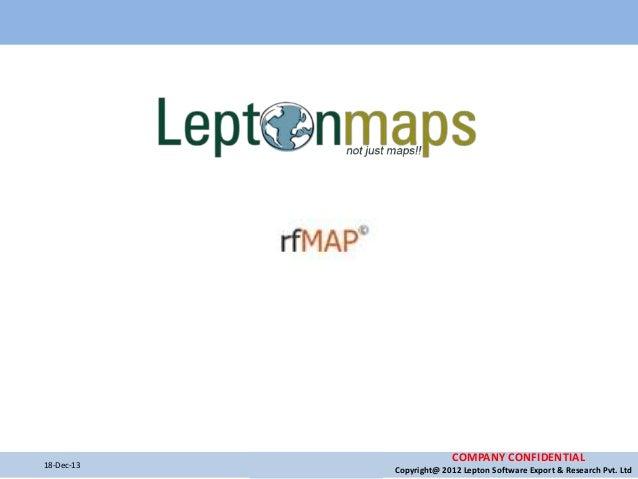 RF Maps supplier - RF Planning, RF Network Planning