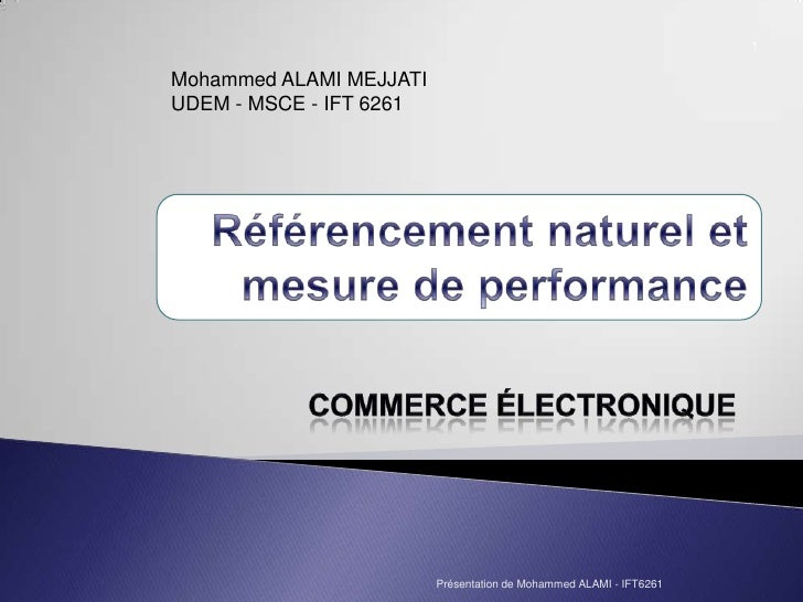 Referencement et performance pour sites E-commerce
